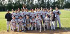 Vacaville Bulldogs Boys JV Baseball Spring 17-18 team photo.