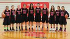 Neah Bay Red Devils Girls Varsity Basketball Winter 16-17 team photo.