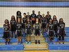 Westside Wolves Girls Varsity Basketball Winter 16-17 team photo.