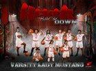 North Shore Mustangs Girls Varsity Basketball Winter 16-17 team photo.