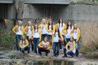 Luxemburg-Casco Spartans Girls Varsity Basketball Winter 16-17 team photo.