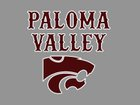 Paloma Valley Wildcats Girls Varsity Basketball Winter 16-17 team photo.