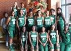 Ware County Gators Girls Varsity Basketball Winter 16-17 team photo.