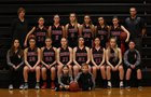Wahkiakum Mules Girls Varsity Basketball Winter 16-17 team photo.