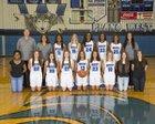 Plano West Wolves Girls Varsity Basketball Winter 16-17 team photo.