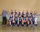 Rainier Christian Mustangs Girls Varsity Basketball Winter 16-17 team photo.