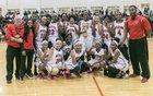 Dutchtown Bulldogs Girls Varsity Basketball Winter 16-17 team photo.