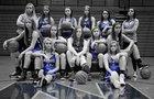 North Harrison Cougars Girls Varsity Basketball Winter 16-17 team photo.