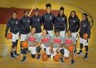 National Christian Academy  Girls Varsity Basketball Winter 16-17 team photo.