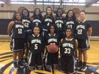 Central Tigers Girls Varsity Basketball Winter 16-17 team photo.