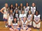 Thunderbird Chiefs Girls Varsity Basketball Winter 16-17 team photo.