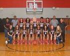 Stevens Falcons Girls Varsity Basketball Winter 16-17 team photo.