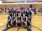 Quilcene Rangers Girls Varsity Basketball Winter 16-17 team photo.