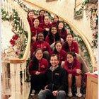 Cupertino Pioneers Girls Varsity Basketball Winter 16-17 team photo.