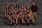 Ellicottville Eagles Girls Varsity Basketball Winter 16-17 team photo.