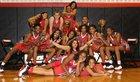 East Central Cardinals Girls Varsity Basketball Winter 16-17 team photo.