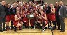 Elk River Elks Girls Varsity Basketball Winter 16-17 team photo.