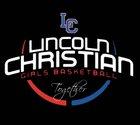 Lincoln Christian Crusaders Girls Varsity Basketball Winter 16-17 team photo.