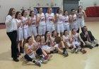 Beekmantown Eagles Girls Varsity Basketball Winter 16-17 team photo.