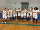 San Jacinto Valley Academy Wolves Girls Varsity Basketball Winter 16-17 team photo.