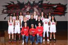 Langham Creek Lobos Girls Varsity Basketball Winter 16-17 team photo.