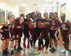 St. Augustine Yellow Jackets Girls Varsity Basketball Winter 16-17 team photo.