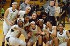 Central Golden Eagles Girls Varsity Basketball Winter 16-17 team photo.
