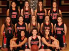 Archbishop Murphy Wildcats Girls Varsity Basketball Winter 16-17 team photo.