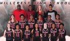 Hillcrest Rams Girls Varsity Basketball Winter 16-17 team photo.