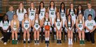 Carroll Dragons Girls Varsity Basketball Winter 16-17 team photo.
