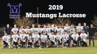 Shadow Ridge Mustangs Boys JV Lacrosse Spring 18-19 team photo.