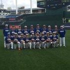 Kansas City Christian School Panthers Boys Varsity Baseball Spring 16-17 team photo.