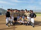 Citrus Valley Blackhawks Boys Varsity Baseball Spring 16-17 team photo.