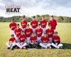Gulf Coast HEAT  Boys Varsity Baseball Spring 16-17 team photo.