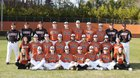 Lanier Longhorns Boys Varsity Baseball Spring 16-17 team photo.