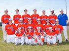 Oneida Indians Boys Varsity Baseball Spring 16-17 team photo.