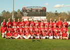 Petal Panthers Boys Varsity Baseball Spring 16-17 team photo.