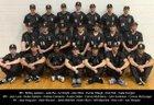 Burke Bulldogs Boys Varsity Baseball Spring 16-17 team photo.