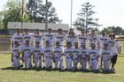 Ouachita Warriors Boys Varsity Baseball Spring 16-17 team photo.