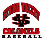 Strong Vincent Colonels Boys Varsity Baseball Spring 16-17 team photo.