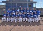 Socorro Warriors Boys Varsity Baseball Spring 16-17 team photo.
