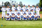 Los Altos Conquerors Boys Varsity Baseball Spring 16-17 team photo.