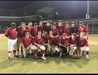 Grapevine Faith Christian Lions Boys Varsity Baseball Spring 16-17 team photo.