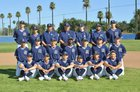 Ramona Rams Boys Varsity Baseball Spring 16-17 team photo.