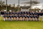 Jackson Academy Raiders Boys Varsity Baseball Spring 16-17 team photo.
