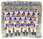Johnsonburg Rams Boys Varsity Baseball Spring 16-17 team photo.