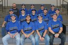 Rector Cougars Boys Varsity Baseball Spring 16-17 team photo.