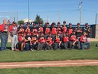 Holly Wildcats Boys Varsity Baseball Spring 16-17 team photo.