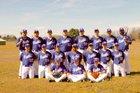 Paris Eagles Boys Varsity Baseball Spring 16-17 team photo.