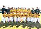 Ontario Christian Knights Boys Varsity Baseball Spring 16-17 team photo.